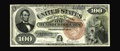 Large Size:Legal Tender Notes, Fr. 174 $100 1880 Legal Tender Extremely Fine. About a dozen and ahalf examples of this number are known, with only one of...