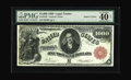 Large Size:Legal Tender Notes, Fr. 187k $1000 1880 Legal Tender PMG Extremely Fine 40. Only fourexamples of this number are known, two of which are foreve...