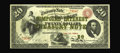 Fr. 191a $20 1864 Compound Interest Treasury Note Extremely Fine. The known number of survivors for this issue is 56, th...