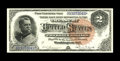 Large Size:Silver Certificates, Fr. 242 $2 1886 Silver Certificate Superb Gem New. A real Standoutof a Hancock Deuce, with huge, even margins, ideal center...