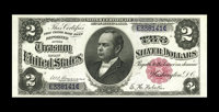 Fr. 245 $2 1891 Silver Certificate Choice About New. The colors are bright, the margins jumbo, and the color as bold as...