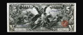 Large Size:Silver Certificates, Fr. 268 $5 1896 Silver Certificate Gem New. Well printed withstrong color and excellent centering. Original paper surfaces ...