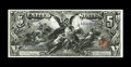 Large Size:Silver Certificates, Fr. 269 $5 1896 Silver Certificate About New. The anchor denomination of the magnificent Educational Series and an especiall...