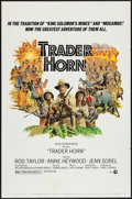 "Movie Posters:Adventure, Trader Horn & Other Lot (MGM, 1973). One Sheets (2) (27"" X41""). Adventure.. ... (Total: 2 Items)"