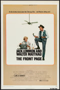 "Movie Posters:Comedy, The Front Page (Universal, 1974). One Sheet (27"" X 41""). Comedy.. ..."