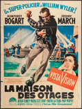 "Movie Posters:Film Noir, The Desperate Hours (Paramount, 1956). French Grande (46.5"" X 63"").Film Noir.. ..."