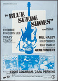 "Movie Posters:Rock and Roll, Blue Suede Shoes (Arts & Melodies, 1982). French Grande (44.5""X 62""). Rock and Roll.. ..."