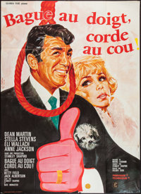 """How to Save a Marriage -- And Ruin Your Life (Columbia, 1968). French Grande (45"""" X 62""""). Comedy"""