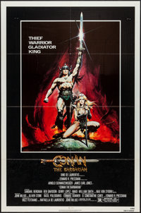 "Conan the Barbarian (Universal, 1982). One Sheet (27"" X 41""). Action"