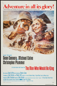 "The Man Who Would Be King (Columbia, 1975). One Sheet (27"" X 41""). Adventure"