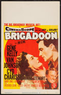"Movie Posters:Musical, Brigadoon (MGM, 1954). Window Card (14"" X 22""). Musical.. ..."
