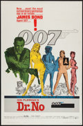 "Movie Posters:James Bond, Dr. No (United Artists, 1962). One Sheet (27"" X 41""). James Bond....."