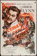 "Movie Posters:Adventure, Cuban Rebel Girls (Joseph Brenner Associates, 1959). One Sheet (27""X 41""). Adventure.. ..."