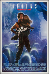 "Aliens (20th Century Fox, 1986). One Sheet (27"" X 41"") Style A. Science Fiction"