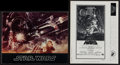 "Movie Posters:Science Fiction, Star Wars (20th Century Fox, 1977). Program (20 Pages, 9"" X 12"")& Uncut Pressbook (Multiple Pages, 8.5"" X 11""). Science Fic...(Total: 2 Items)"
