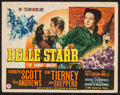 """Movie Posters:Western, Belle Starr (20th Century Fox, 1941). Title Lobby Card (11"""" X 14""""). Western.. ..."""