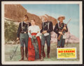 "Movie Posters:Western, Rio Grande (Republic, 1950). Autographed Lobby Card (11"" X 14""). Western.. ..."