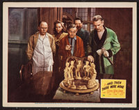 "And Then There Were None (20th Century Fox, 1945). Lobby Card (11"" X 14""). Mystery"