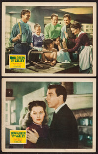 "How Green Was My Valley (20th Century Fox, 1941). Lobby Cards (2) (11"" X 14""). Drama. ... (Total: 2 Items)"