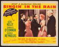 "Movie Posters:Musical, Singin' in the Rain (MGM, 1952). Lobby Card (11"" X 14""). Musical....."
