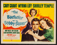 """The Bachelor and the Bobby Soxer (RKO, 1947). Title Lobby Card (11"""" X 14""""). Comedy"""