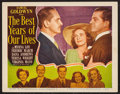"Movie Posters:Drama, The Best Years of Our Lives (RKO, 1947). Lobby Card (11"" X 14""). Drama.. ..."