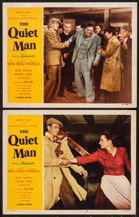 "The Quiet Man (Republic, 1951). Lobby Cards (2) (11"" X 14""). Drama. ... (Total: 2 Items)"