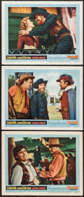 "Movie Posters:Western, Vera Cruz (United Artists, 1955). Lobby Cards (3) (11"" X 14"").Western.. ... (Total: 3 Items)"