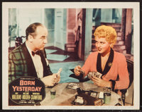 "Born Yesterday (Columbia, 1950). Lobby Card (11"" X 14""). Comedy"