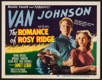 "The Romance of Rosy Ridge (MGM, 1947). Title Lobby Card (11"" X 14""). Romance"