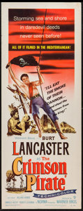 "Movie Posters:Adventure, The Crimson Pirate (Warner Brothers, 1952). Insert (14"" X 36"").Adventure.. ..."
