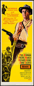 "Movie Posters:Western, Hombre (20th Century Fox, 1966). Insert (14"" X 36""). Western.. ..."