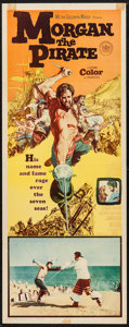 "Movie Posters:Adventure, Morgan the Pirate (MGM, 1961). Insert (14"" X 36""). Adventure.. ..."