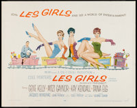 "Les Girls (MGM, 1957). Half Sheet (22"" X 28"") Style A. Musical"