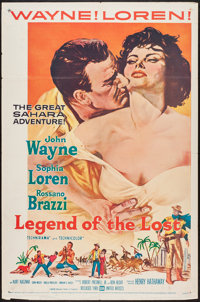 "Legend of the Lost (United Artists, 1957). One Sheet (27"" X 41""). Adventure"