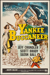"Yankee Buccaneer (Universal International, 1952). One Sheet (27"" X 41""). Adventure"