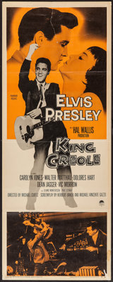 "King Creole (Paramount, 1958). Insert (14"" X 36""). Elvis Presley"