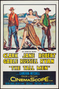 "Movie Posters:Western, The Tall Men (20th Century Fox, 1955). One Sheet (27"" X 41"").Western.. ..."