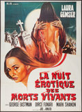"""Movie Posters:Adult, Sexy Nights of the Living Dead (Unknown, 1981). French Grande (45.5"""" X 62""""). Adult.. ..."""
