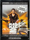 """Movie Posters:Science Fiction, Mad Max 2: The Road Warrior (Warner Brothers, 1982). French Grande(47"""" X 63""""). Science Fiction.. ..."""