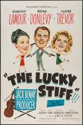 "Movie Posters:Comedy, The Lucky Stiff (United Artists, 1949). One Sheet (27"" X 41""). Comedy.. ..."