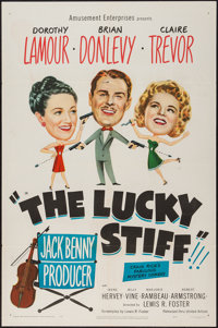 "The Lucky Stiff (United Artists, 1949). One Sheet (27"" X 41""). Comedy"