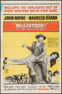 "McLintock! & Other Lot (United Artists, 1963). One Sheets (2) (27"" X 41""). Western. ... (Total: 2 Item..."