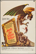 "Movie Posters:Fantasy, Jack the Giant Killer (United Artists, 1962). One Sheet (27"" X41""). Fantasy.. ..."