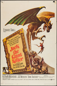"Jack the Giant Killer (United Artists, 1962). One Sheet (27"" X 41""). Fantasy"