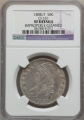 Bust Half Dollars, 1808/7 50C -- Improperly Cleaned -- NGC Details. XF. O-101. NGCCensus: (23/99). PCGS Population (33/90). Numismedia Wsl. ...