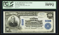 National Bank Notes:West Virginia, Sistersville, WV - $10 1902 Plain Back Fr. 632 The Union NB Ch. # 5028. ...