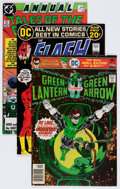Modern Age (1980-Present):Superhero, The Flash/Green Lantern Box Lot (DC, 1970s-'90s) Condition: AverageVF....
