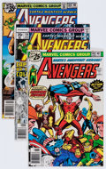 Modern Age (1980-Present):Superhero, The Avengers Box Lot (Marvel, 1976-94) Condition: Average VF+....