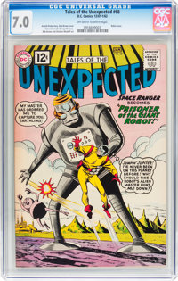 Tales of the Unexpected #68 (DC, 1962) CGC FN/VF 7.0 Off-white to white pages